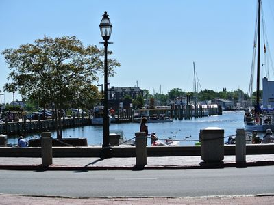 Less than one block to the Annapolis Waterfront