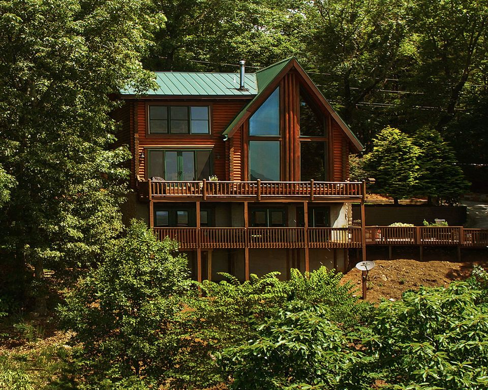 Image Gallery Mountain Cabin Lake View