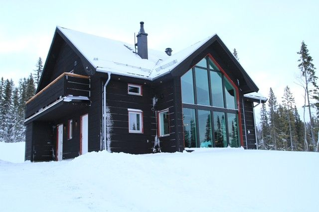 Ottsjö Bear Lodge Exclusive newly built house in the mountains