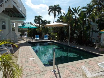 Tavernier apartment rental - Private pool