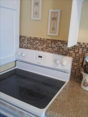 South Padre Island condo photo - Brand new oven and stove top.