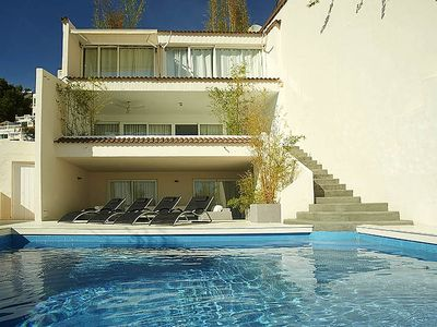 House With Private Pool And Spectacular Views Of Ibiza Town Cleaner Included