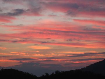 And people say Western skies are the best. Please! The Appalachians have it all!