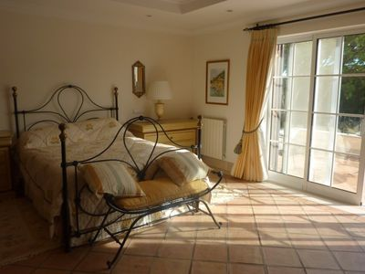 Quinta do Lago villa rental - Master Bedroom to Terrace