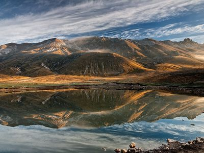 Lake at Campo Imperatore