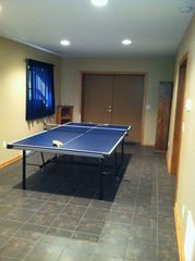 Swanton cabin photo - Ping Pong Table