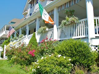 Avon-by-the-Sea house photo - Beach House View of the House from the Porch and Street