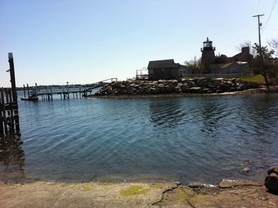 1 Block to the Boat Launch -look for the lighthouse!