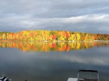 Fall colors from across the lake