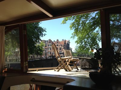 Jordaan house boat rental