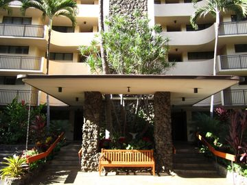 Front entrance to the Kihei Surfside