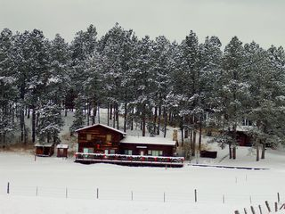 Custer cabin photo - .