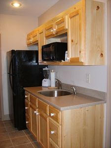 Kitchenette located just off Billiards Room and Home Theater Room