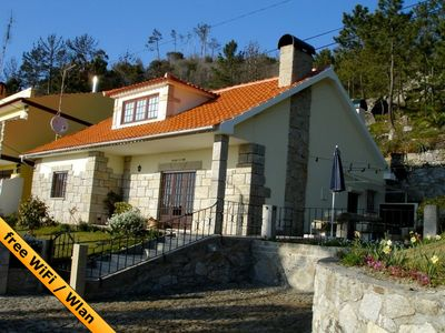 detached house with large grounds and sea views, a children's paradise
