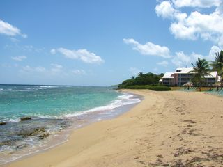 St. Croix condo photo - Beach to the East headed to the Salt River Marina just around the corner