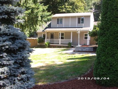 Nestled In Old Growth Timber And Only Minutes Away From Airport