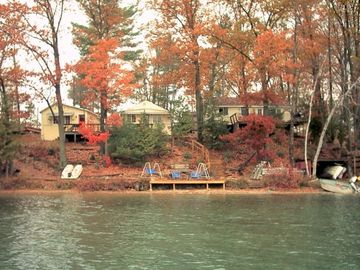 Late October/Fall. Dock comes out.