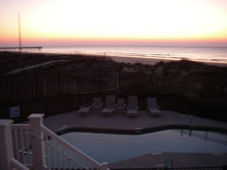 Isle of Palms condo photo - Take Our Private Stairs Down To The Pool & Beach