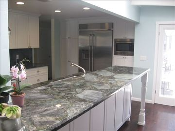 Large Kitchen Granite Countertop