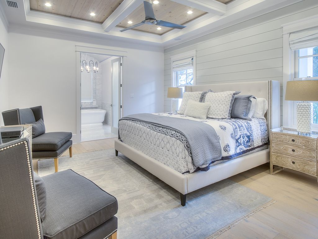 Next Home Bedroom South 30a Brand New Modern Beach Chic Luxury Home Next To Rosemary