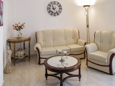 In the center of Olhão, the Algarve, elegant apartment with large terrace and view of the city