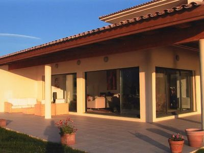 Very nice villa built in 2006, unique panoramic view of the Sagone Bay