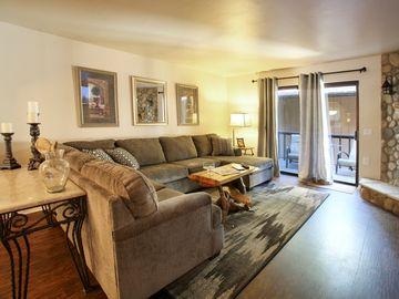 Winter Park townhome rental - The Living Room