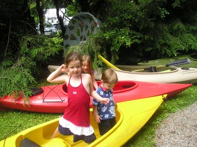 Kids and Kayaks