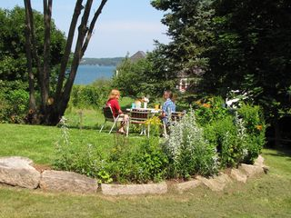 Eastport house photo - Bay & Campobello view from the deck - midday