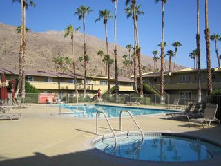 Palm Springs condo photo - One of The Four Pools