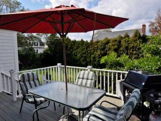 Edgartown house photo - Separate Deck Area Offers Outdoor Dining & Grilling Area