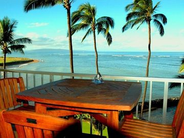 Kihei condo rental - Private, Romantic, Oceanfront