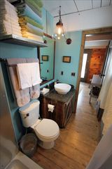 Pagosa Springs cabin photo - Bathroom, vessel sink