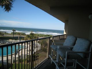 Ormond Beach condo photo - Balcony view.