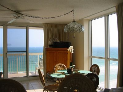corner unit, panoramic view of the ocean with extra window