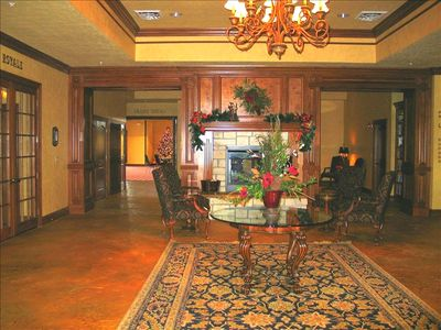 Elegant Club House Lobby with rentable meeting rooms