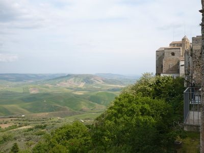 Romantic apartment with olive grove in Irsina historic hill top town near Matera