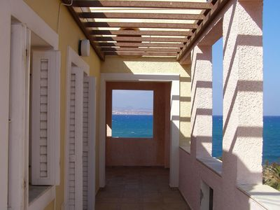 Dionysos apartment rental - 3 BEDROOM HOUSE VERANDA