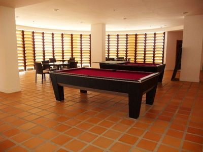 Entertainment Space, Pool tables and Foosball