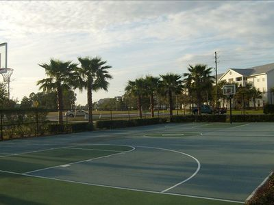 Palms of Destin villa rental - Full court basketball! Just ask the front desk for a ball.