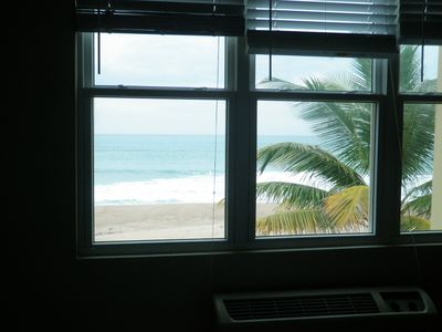 Rincon apartment rental - View from Master Bedroom