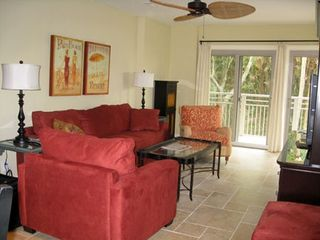 Relax in style in the living room - Kiawah Island villa vacation rental photo