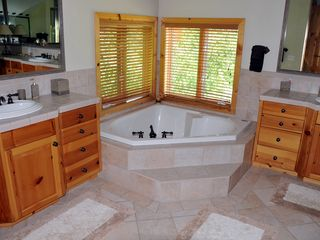 Park City house photo - Master Bath - Enjoy amazing views in this bath!