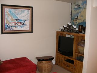 Vineyard Haven house photo - TV room with internet and game table