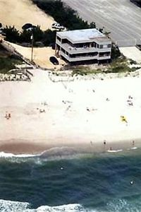Aerial View of Dreamscape Loveladies 5 Bedroom Oceanfront House