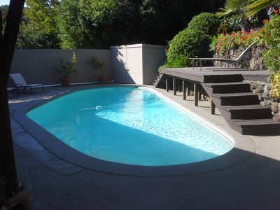 Pool and sun deck --- a great space to enjoy with friends