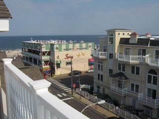 Seaside Heights condo photo - This is the view from the roof deck.
