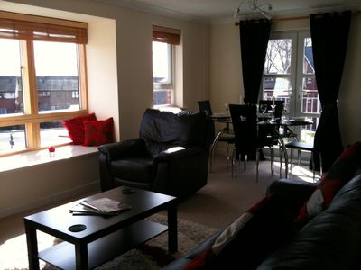 Poole apartment rental - Lounge diner