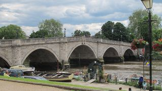 Richmond & Kew apartment photo - The lovely river Thames at Richmond, a walk, bus or train ride from the flat