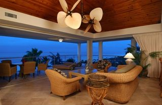 Providenciales - Provo condo photo - Evening in the Penthouse